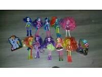 My little pony dolls x10