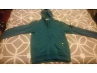 Authentic Stone Island zipped hoodie