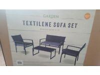 Garden sofa set new