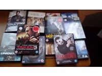 Dvds 2 pound each includes liam nesson umknown and