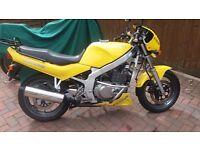 Suzuki GS500 Motorcycle 500CC 1997 Yellow, Refurbished.