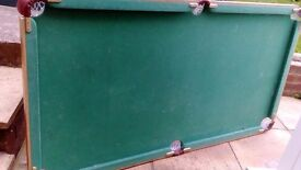 Child's pool table