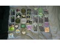 Carp Fishing Terminal tackle, hooks line and accessories,