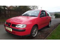 SEAT IBIZA 1.4 LOW MILES WITH YEARS MOT
