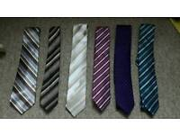 Selection of mens ties