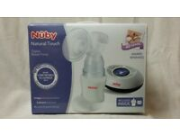 NEW Nuby Natural Touch Digital Electric Breast Pump