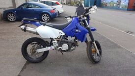 drz 400 with both sets of wheels