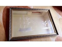 Rare antique style Mirror, Excellent condition (PICK UP ONLY).