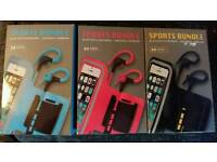 Sports bundle Bluetooth set rrp £25