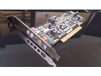 ASUS Xonar DG PCI 5.1 Audio/ Sound Card