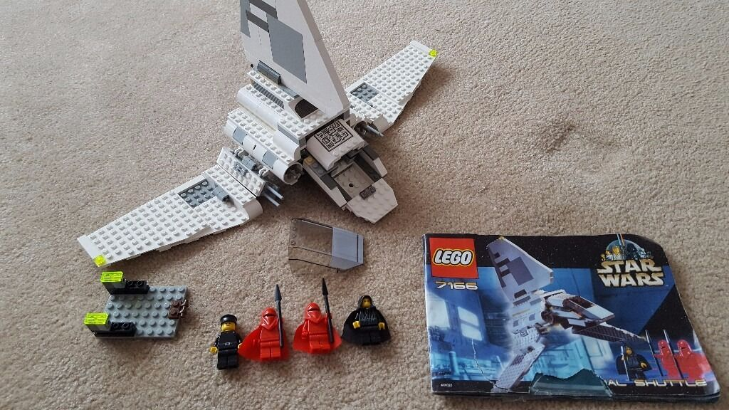 Lego Star Wars 7166 Imperial Shuttle 100 Complete With Minifigures