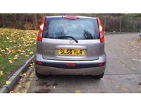 2006 56 NISSAN NOTE 5 DOOR AUTOMATIC