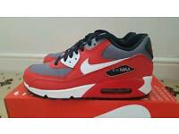 Nike air max red and white bnib size 5
