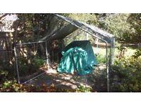 Huge 6m x 3m aviary chicken hen dog rabbit house, run, or coop.