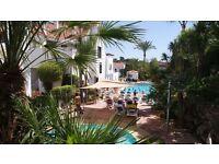 Apartment in Marbella Puerto Banus Spain sleeps 5 people 1 double bed in master 3 singles bedroom 2