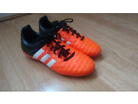 Adidas Boys Football Soccer Boot Solar Orange
