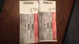 2x tickets for Peter Kay's dance for life
