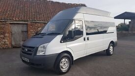 2008 Transit LWB High ,comes with 6 seats Low Mileage