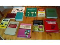 Veterinary text books