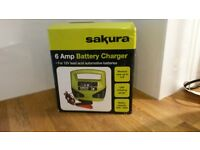 Brand new Sakura Battery charger £10