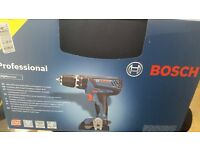 bosch drill professional 18v+3 baterry +bits new