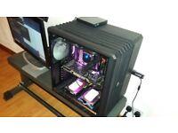 Very High Spec Gaming PC- 5GHz I7-7740X, X299 Chipset, 16GB DDR4, 250GB SSD, 6GB GTX 980Ti