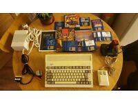 Amiga 600 + rgb scart, games, joystick. Fully working! Retro commodore