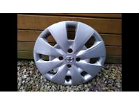 "Toyota Yaris Wheel Trim 15"""