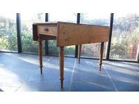 Antique pine Pembroke table.