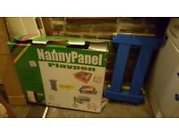 Nanny Panel Play Pen 12 peices