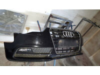 Audi A5 Complete Front And Rear bumper 2012-2016 Facelift