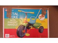 🚲Metal Trike with parent handle 🚲
