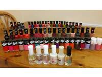 68 x Collection polish/varnish RRP £150+