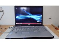 "Toshiba Satellite P200 WebCam WiFi 17"" Intel Core2 Duo 1.66GHz 3GB RAM 200GB HD DVDRW Internet Ready"