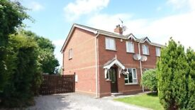 3 Bed Semi Detached House with Large Garden, Maghaberry / Moira / Lisburn