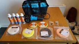 Machine polisher with sonus and menzerna kit.