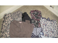 Bundle of top quality women's tops etc. VGC 11 items. All Size 22