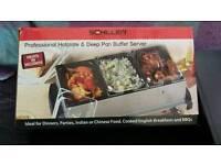 Hot plate buffet server
