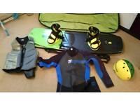 Wakeboard + Equipment