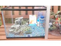Fish / reptile tank (Glass) plus accessories