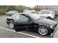 Bmw msport convertable 330 with hard top alpina alloys ...£4000 with 12 month mot .