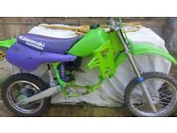 kx 60 engine and honda qr 50 parts wanted
