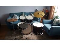 Upgraded Mapex Tornado Rock Fusion Drum Kit