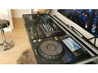 Full Dj setup Pioneer XDJ 1000 and DJM 700