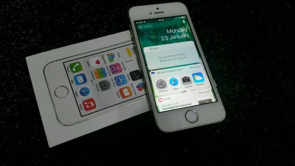 Iphone 5s MINT gold unlocked boxedin Sheffield, South YorkshireGumtree - Iphone 5s 16gb unlocked boxed Excellent condition No any scratches chip or dent No any problem at all Icloud account has been removed All buttons WiFi both cameras vibration mic speaker loud speaker fingerprint everything in working condition I have...