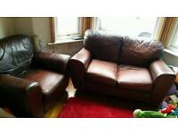Free 2 seater sofa and 2 armchairs