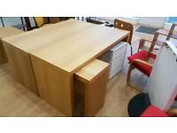 Two IKEA desks