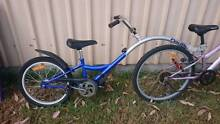 Kids trail-a-bike, trailer attachment, baby seat, kids bike seat Greta Cessnock Area Preview