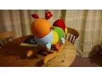 Baby/Toddler Rocker - Charlie the Caterpillar by Mamas & Papas