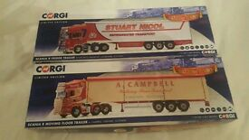 Two corgi diecast trucks 1:50 scale brand new